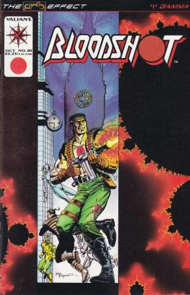 Bloodshot (1993 series) #20, NM- (Stock photo)