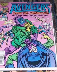 Avengers # 269 (Jul 1986, Marvel) kang vs immortus
