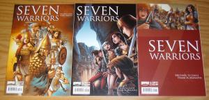 Seven Warriors #1-3 VF/NM complete series - bad girls vs persian army (like 300)