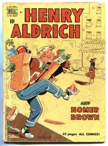 Henry Aldrich #2 1950- dell golden age comic FR