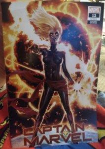 Captain Marvel #12 JAY ANACLETO EXCLUSIVE - 1ST DARK CAPTAIN MARVEL!