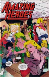Amazing Heroes #190 VF/NM; Fantagraphics   save on shipping - details inside