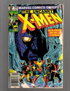 Uncanny X-Men # 149 VG Marvel Comic Book Wolverine Storm Nightcrawler J450