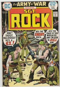 Our Army at War #265 (Feb-74) FN+ Mid-High-Grade Easy Company, Sgt. Rock