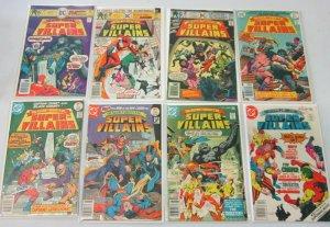 Super-Villains from:#1-15 12 difference avg 5.0 range 4.0-6.0 (1976)