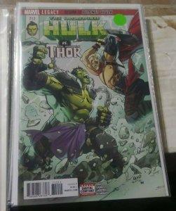 INCREDIBLE HULKS  # 712  2017 marvel  legacy return to planet hulk greg pak thor