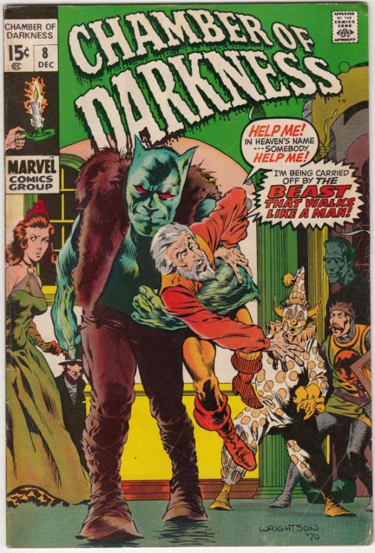 Chamber of Darkness #8 (Dec-70) FN+ Mid-High-Grade