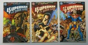 Superman The Dark Side set:#1-3 NM (1998)