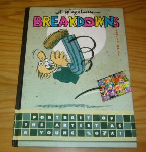 Art Spiegelman's Breakdowns HC VF/NM first revised edition hardcover 2008