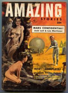 Amazing Stories April 1953- Bradbury- Heinlein- 1st digest