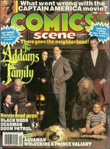 Comics Scene (Vol. 2) #23 VF; Starlog | save on shipping - details inside