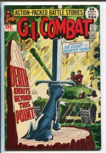 G.I. COMBAT #151 1972-DC-GIANT ISSUE- HAUNTED TANK-JOE KUBERT-CAPT STORM-nm