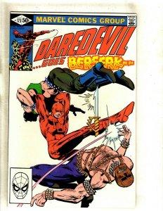 Daredevil # 173 NM- Marvel Comic Book Frank Miller Elektra Bullseye Hand HJ9