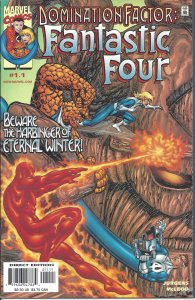 Domination Factor: Fantastic Four #1.1 (Dec 1999) - w/ Iron Man