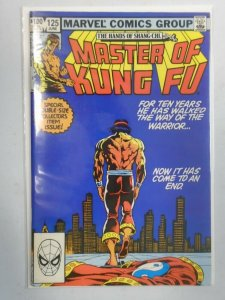Master of Kung Fu #125 Final Issue 8.0 VF (1983)