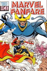 Marvel Fanfare (1982 series) #8, NM (Stock photo)