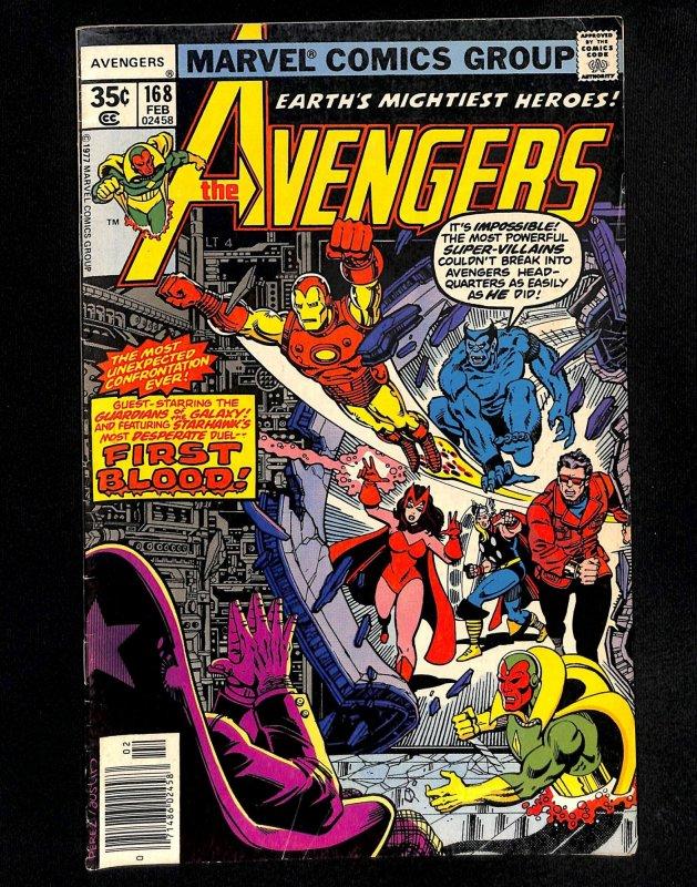Avengers #168