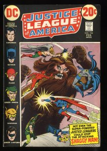 Justice League Of America #104 VF 8.0 White Pages