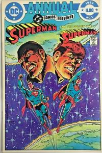 DC COMICS PRESENTS ANNUAL#1 VF 1982 DC BRONZE AGE COMICS