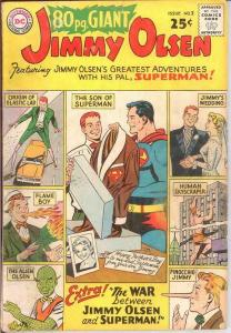EIGHTY PAGE GIANT 2 GOOD JIMMY OLSEN    Sept. 1964 COMICS BOOK