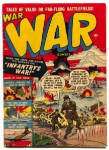 War Comics #2 1951- Anzio- Atlas Golden Age FN