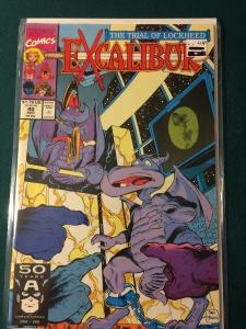 Excalibur #40 The Trial of Lockheed