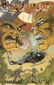 Specwar #5 VF/NM; Peter Four | save on shipping - details inside
