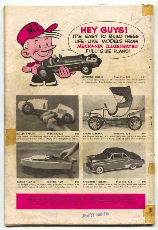 Battle Stories #10 1953- Final issue- Bill Battle G/VG