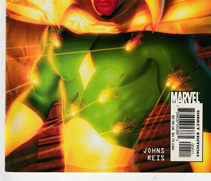 Avengers Icons – The Vision # 1,2,3,4