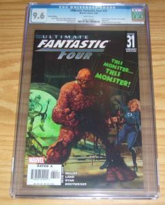 Ultimate Fantastic Four #31 CGC 9.6 arthur suydam marvel zombies variant 2006
