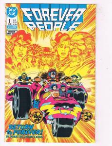 Forever People #1 VF/NM DC Comics Comic Book Feb 1988 DE44