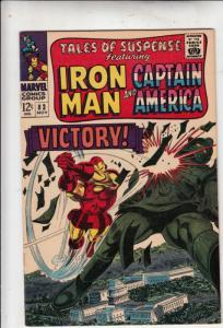 Tales of Suspense #83 (Nov-66) VF/NM+ High-Grade Iron Man, Captain America, B...