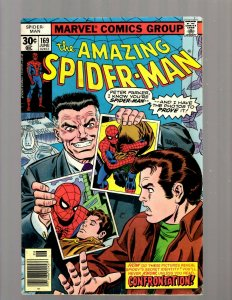 Amazing Spider-Man # 169 FN- Marvel Comic Book Kraven The Hunter Gibbon JK7