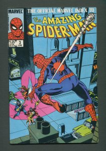 Amazing Spiderman Official Index #3  /  7.0 FN/VFN   /  June 1985