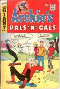 ARCHIES PALS & GALS (1952-    )36 VG Spring 1966 COMICS BOOK