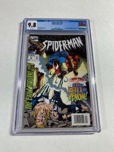Spider-man 53 Cgc 9.8 Scarlet Spider Defeats Venom Newsstand Edition Marvel Rare