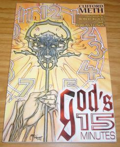 God's 15 Minutes OGN VF/NM signed with COA (192 of 352) cockrum - george perez