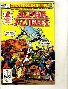 12 Marvel Comics Alpha Flight #1 28 29 33 34 35 52 53 + Pendragon #1 6 10 13 DS1
