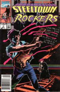 Steeltown Rockers #1, NM- (Stock photo)