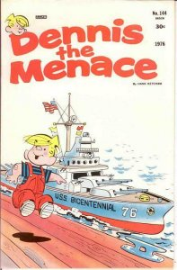 DENNIS THE MENACE  (1953-1979) 144 VF May 1976 COMICS BOOK