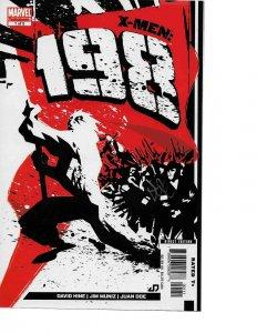 X-Men 198 Complete Mini Series Set 1 2 3 4 5 signed by Cover Artist Juan Doe