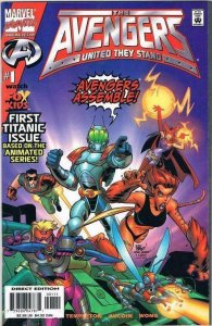 AVENGERS: UNITED THEY STAND #1 - MARVEL COMICS - NOVEMBER 1999