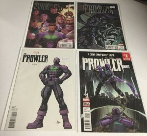 Prowler 1 Variant 4 Issue Lot Nm Near Mint Marvel Comics