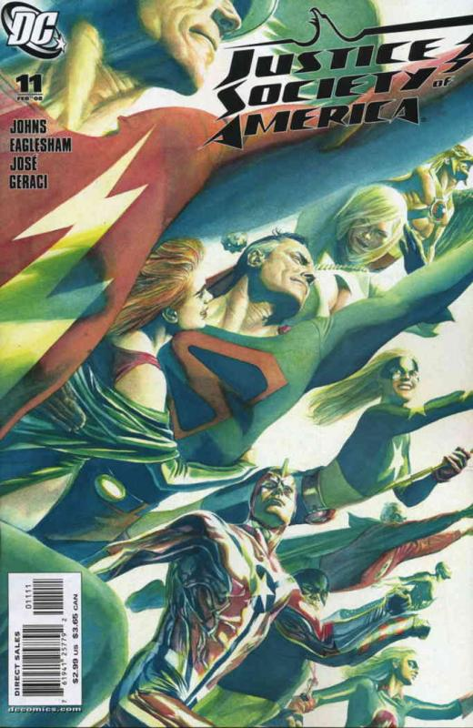 Justice Society of America (2nd Series) #11 VF/NM; DC | save on shipping - detai
