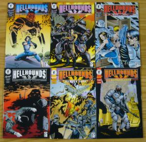 Hellhounds #1-6 VF/NM complete series - dark horse comics manga - panzer cops