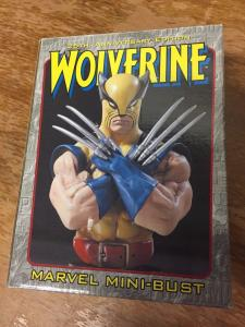 Wolverine Mini Bust X-Men Bowen Designs Statues #'d In  Box Marvel Hulk 181 TWT1