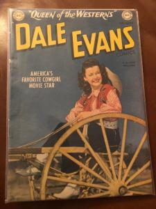Queen Of The Westerns Dale Evans # 6 FN/VF DC Golden Age Comic Book Cowgirl JL17