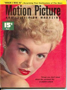 Motion Picture-Janet Leigh-Gregory Peck-Janet Leigh-Marilyn Monroe -Mar-1953