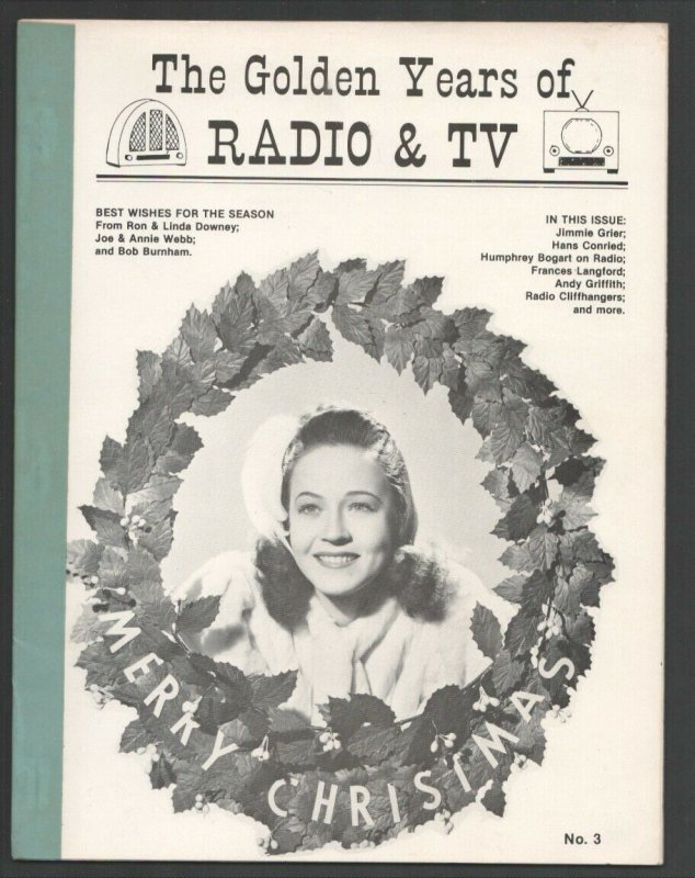 Golden Years of Radio & TV #3 1983-Movie Cowboys & comic strip characters on ...