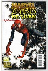 MARVEL ZOMBIES RETURN #1, VF/NM, Spider-man, Arthur Suydam, 2009